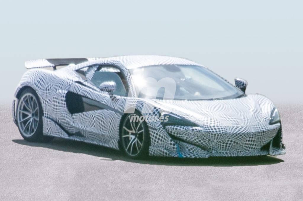 McLaren 600LT: las primeras imágenes de la nueva versión 'Long Tail'