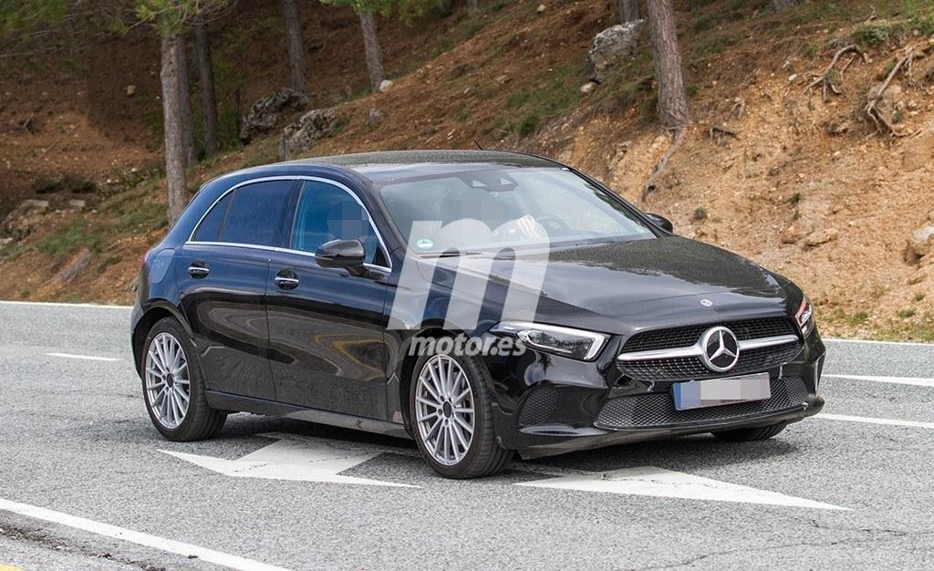 El nuevo Mercedes Clase A híbrido cazado totalmente al descubierto