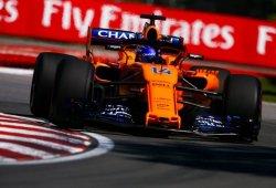 """Alonso, decepcionado con el McLaren: """"No somos suficientemente rápidos"""""""