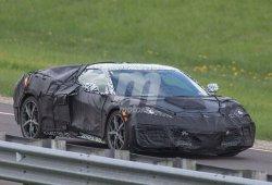 El nuevo Chevrolet Corvette C8 probando el Launch Control en circuito