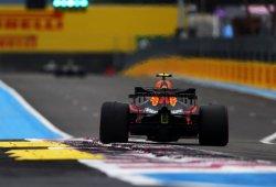 El subviraje frena a Red Bull en las curvas de Paul Ricard