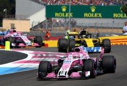 """Force India ve a Renault inalcanzable: """"La disputa es por el quinto puesto"""""""