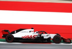 Grosjean iguala la mejor clasificación histórica de un Haas