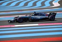 Hamilton arrasa en el mar de curvas de Paul Ricard