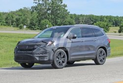 Honda Pilot 2019: primeras fotos del facelift y la nueva versión PHEV
