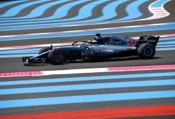 "Mercedes arranca líder en Paul Ricard: ""Tenemos que continuar con este nivel"""
