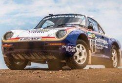 Uno de los 6 Porsche 959 París-Dakar a subasta