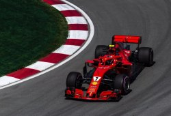 Räikkönen recoge el testigo de Ferrari tras los problemas de Vettel