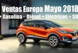 Análisis de ventas en Europa: los SUV del segmento B continúan una tendencia positiva en mayo