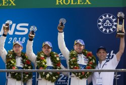 Tercer podio consecutivo de Ford en las 24 Horas de Le Mans