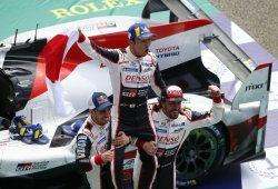 Toyota celebra una victoria histórica en Le Mans