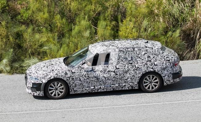 Audi A6 allroad quattro - foto espía lateral
