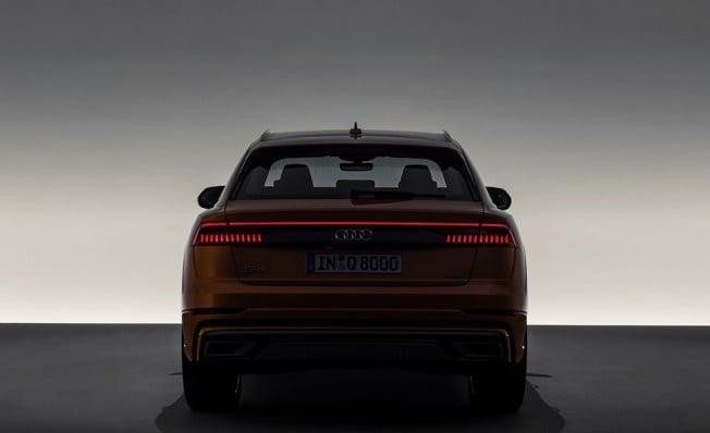 Audi Q8 2018 - posterior