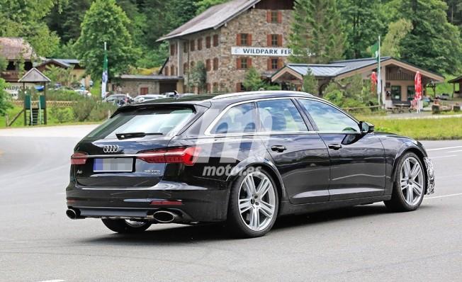 Audi RS 6 Avant 2019 - foto espía posterior