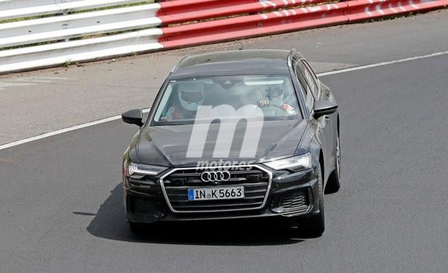 Audi S6 Avant 2019 - foto espía frontal
