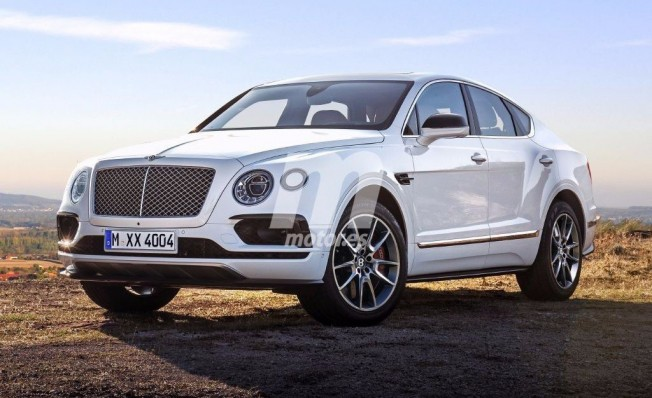 Bentley Bentayga Sport - recreación
