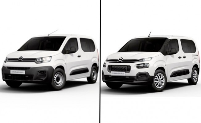 Citroën Berlingo Live - comparativa