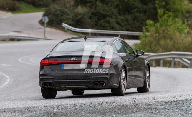 Audi S7 Sportback 2018 - foto espía posterior