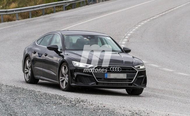 Audi S7 Sportback 2018 - foto espía
