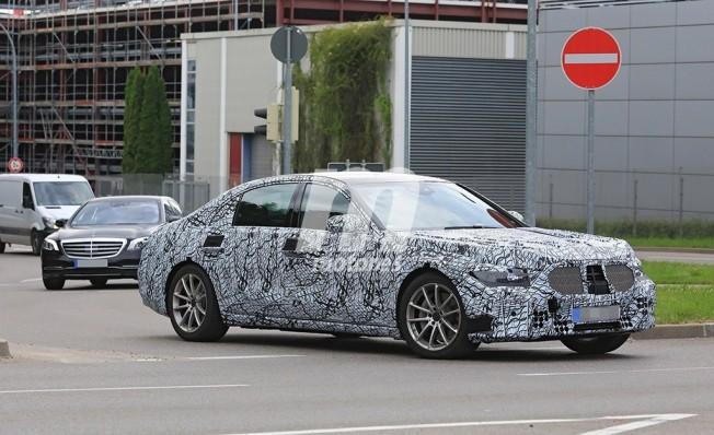 Mercedes Clase S 2020 - foto espía