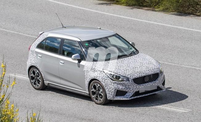 MG3 Sport 2019 - fotos espía