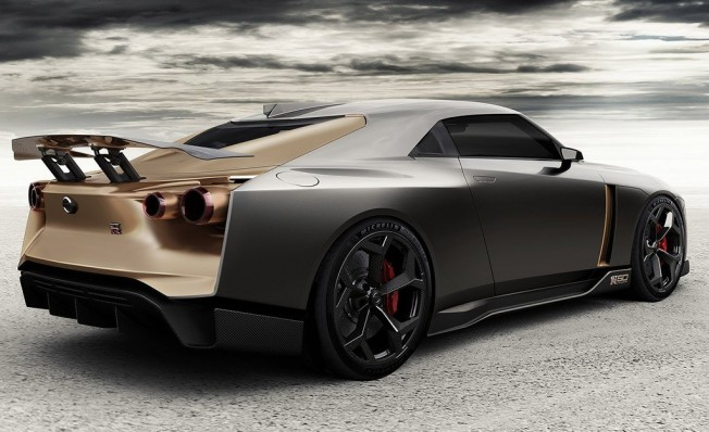 Nissan GT-R50 by Italdesign - posterior