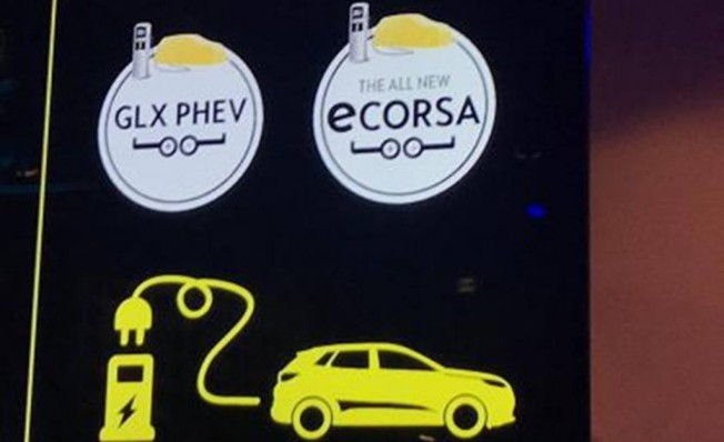 Opel eCorsa - adelanto