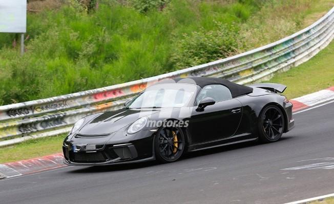 Porsche 911 Speedster - foto espía