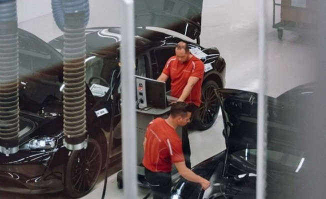 Porsche Taycan - adelanto