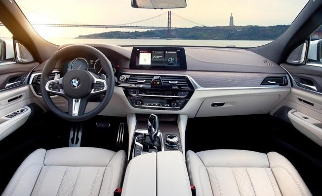 BMW 620d Gran Turismo - interior