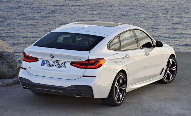 BMW 620d Gran Turismo - posterior