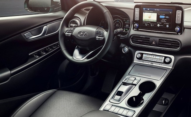 Hyundai Kona Eléctrico - interior