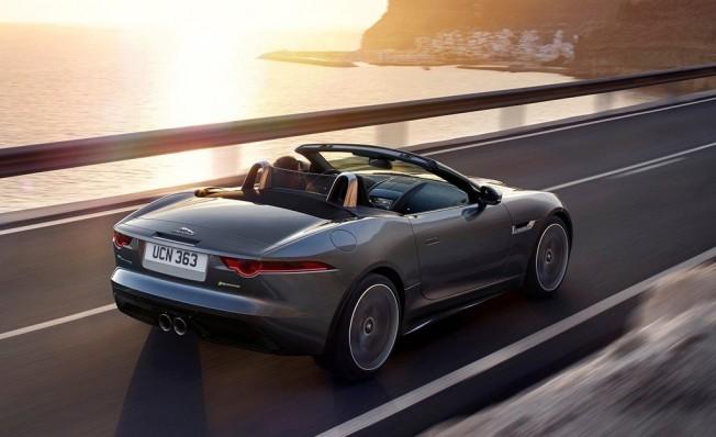 Jaguar F-Type Cabrio - posterior