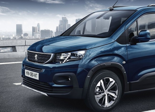 Peugeot Rifter 2018 - frontal