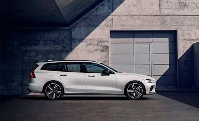 Volvo V60 R-Design - lateral