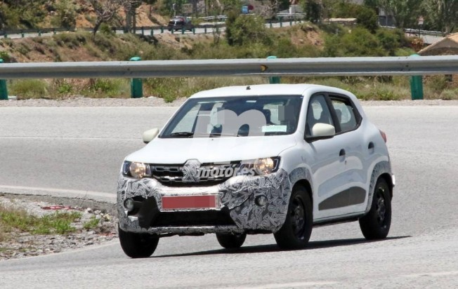 Renault Kwid 2019 - foto espía
