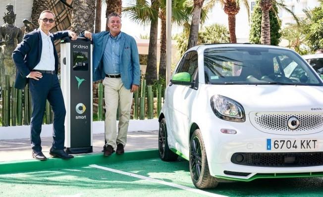 Smart y Endesa en Ibiza