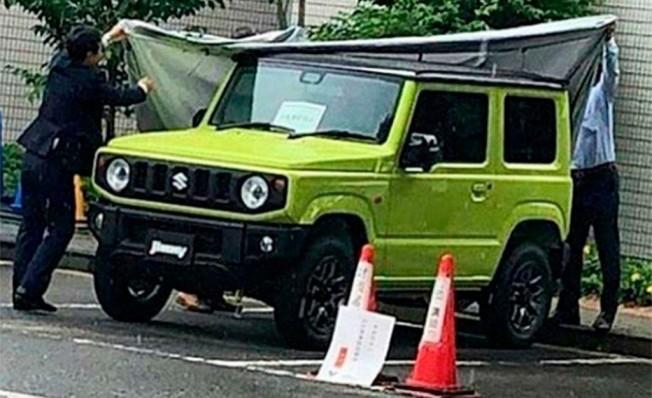 Suzuki Jimny 2019 - foto espía