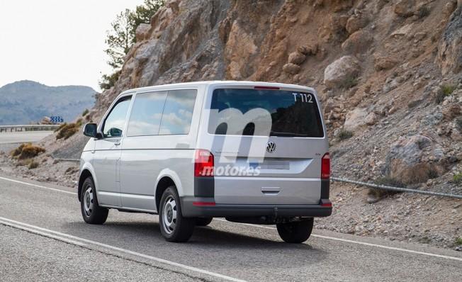 Volkswagen T7 - foto espía posterior