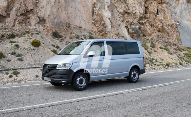 Volkswagen T7 - foto espía