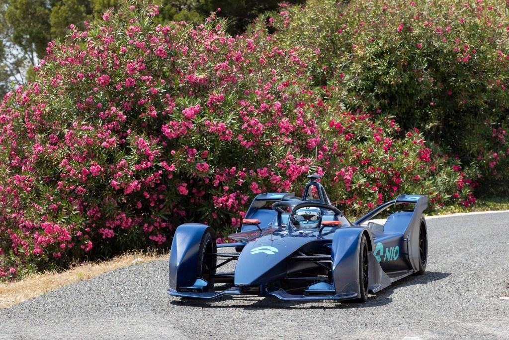 NIO Fórmula E muestra su 'Gen 2' en su test en Calafat