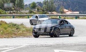 El nuevo Peugeot 508 Híbrido enchufable continúa sus pruebas destapado