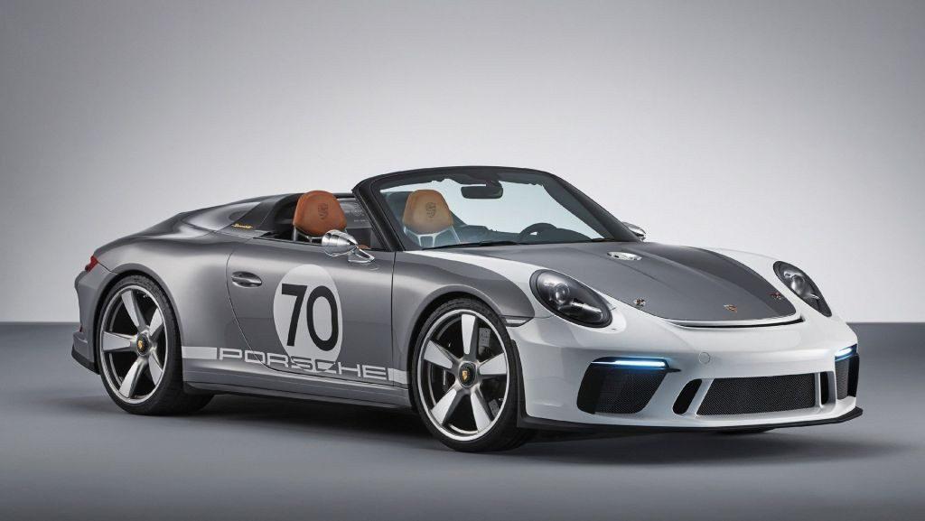 Porsche presenta el 911 Speedster Concept para celebrar su 70 aniversario