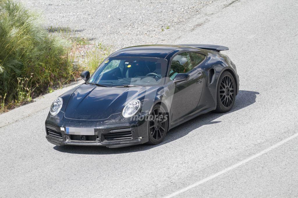 El Porsche 911 Turbo con más detalle en sus últimas pruebas