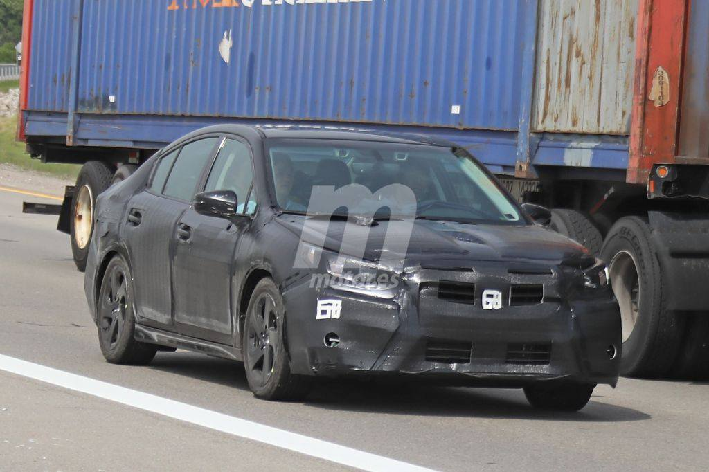 Subaru Legacy 2020: primeras fotos de la nueva generación
