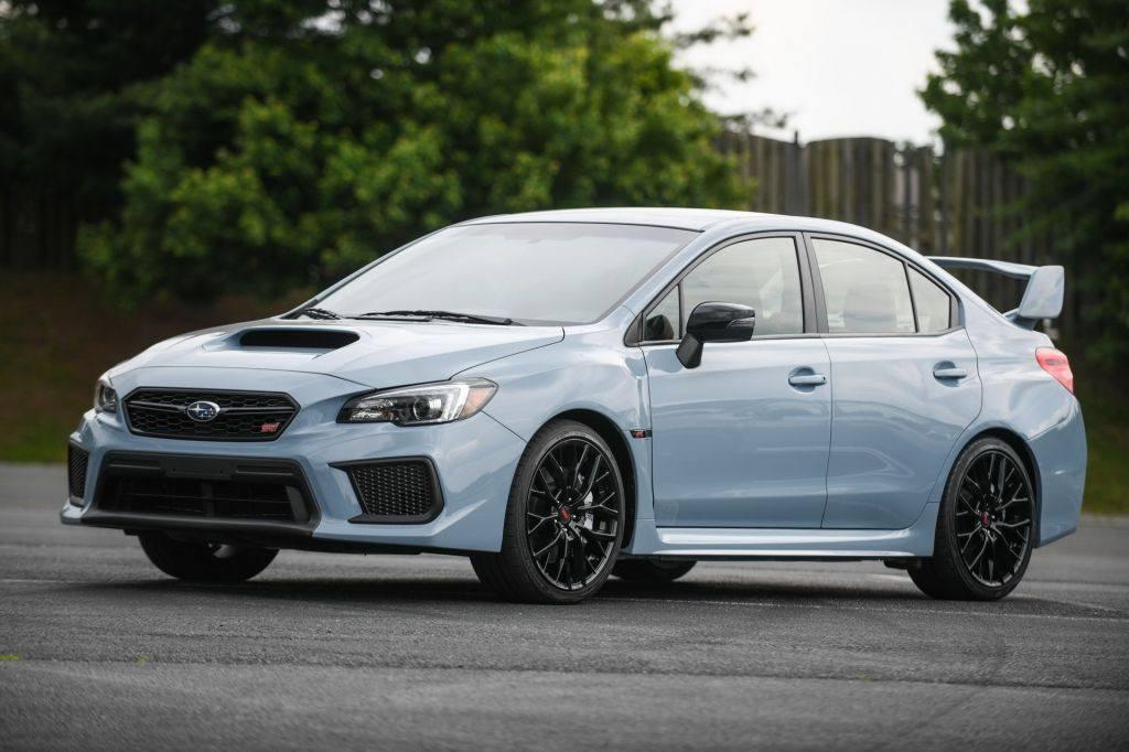 Subaru desvela los nuevos WRX y WRX STI Series Gray 2019