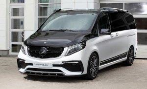 TopCar presenta su paquete de mejoras para el Mercedes Clase V