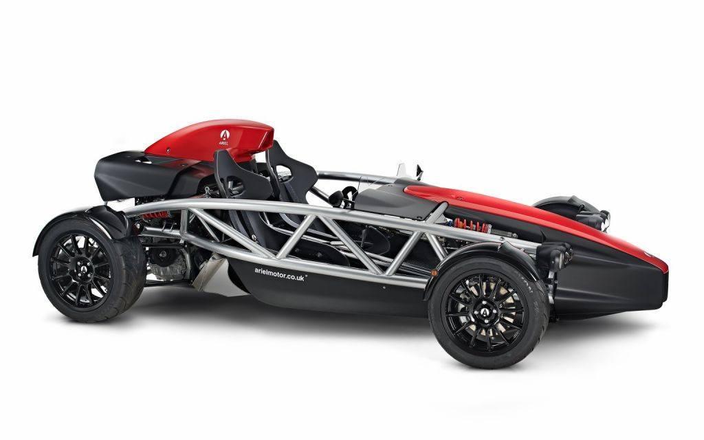 El nuevo Ariel Atom 4 dispone del motor del Civic Type-R de 320 CV