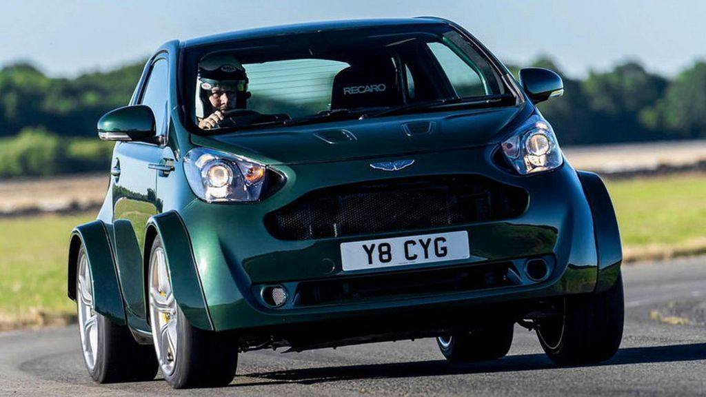 Aston Martin Cygnet V8: ocho cilindros y 430 CV para este cohete urbano