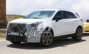 El Cadillac XT5 2020 facelift recibirá una gran actualización tecnológica